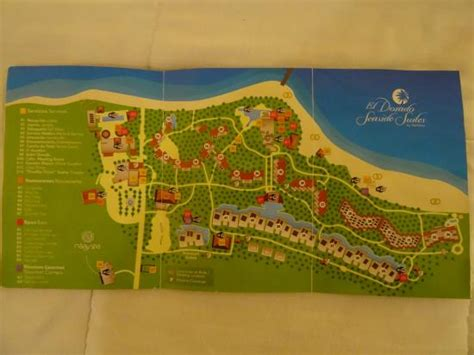 dorado resort map map picture of el dorado sensimar riviera