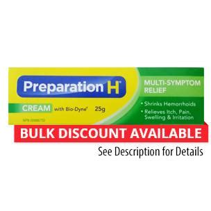 preparation h with biodyne 25g 0 88 oz canoutlet