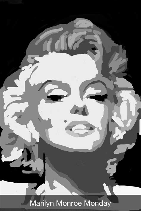 how to doodle in snapchat snapchat drawing of marilyn by kara atwell