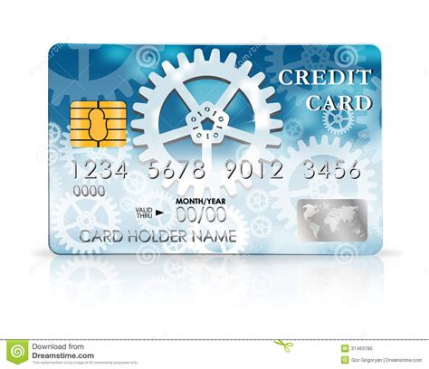 Credit Card Design Template Stock Photo Image 31463780 Credit Card Design Template