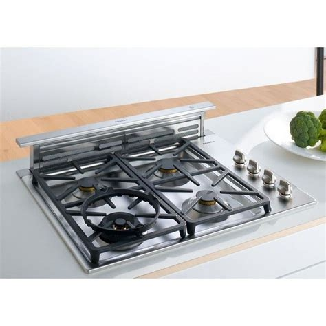 pop up vent for gas cooktop remodeling 101 nearly invisible downdraft kitchen vents
