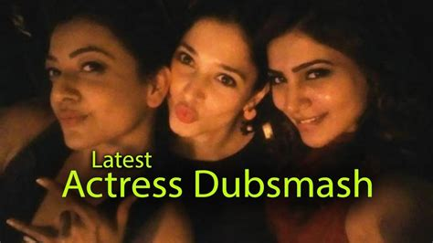 actress actor dubsmash top actors and actress telugu actress dubsmash telugu