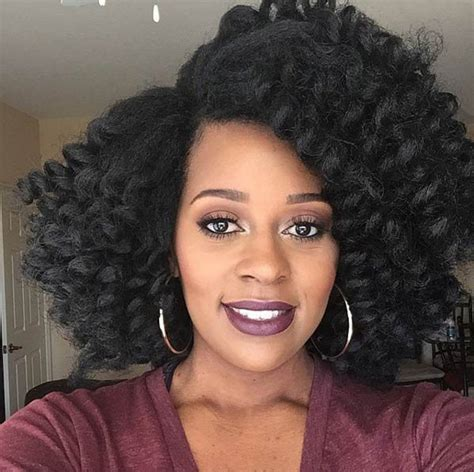 short curly styles with marley hair crochet braided super chic crochet braid styles with human hair