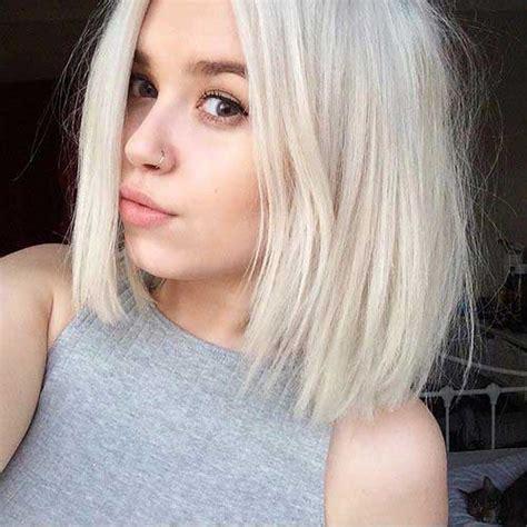 bob platinum blonde hair 25 new platinum blonde short hair pics short hairstyles