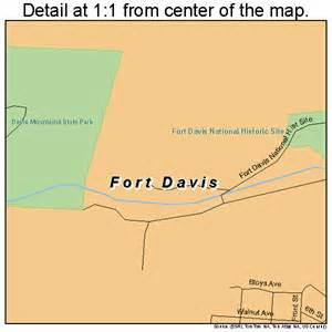 fort davis map 4826688