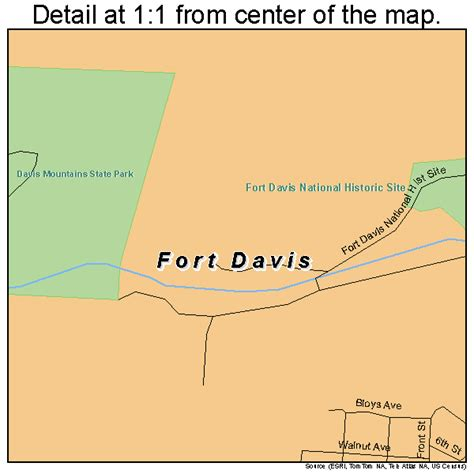 map of fort davis texas fort davis texas map 4826688
