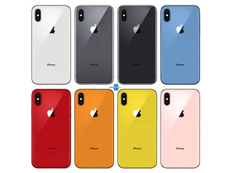 iphone 9 colors here s all iphone 2018 color options phonearena