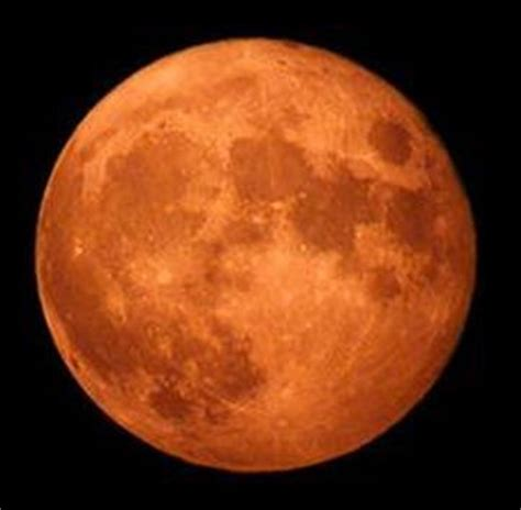 orange harvest moon shines bright this week near peak now