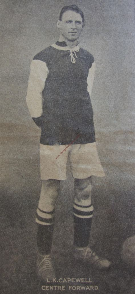 vintage len capewell len image 3 aston villa 1924 vintage footballers