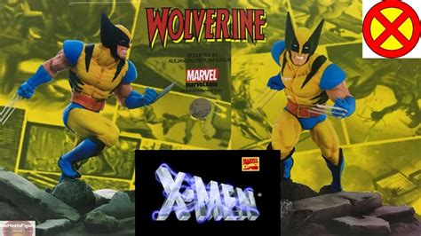 wolverine figure 90s bait x marvel wolverine figure statue by mindstyle