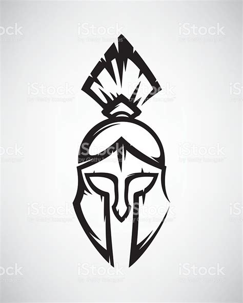 spartan helmet stock vector art amp more images of ancient