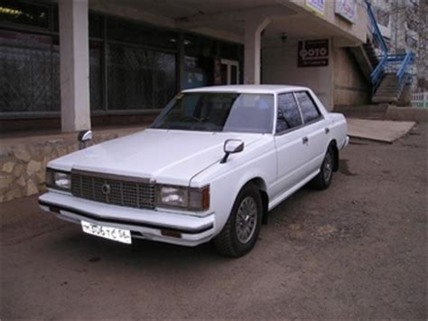 Toyota Cars 1980s 1980 Toyota Crown Pictures For Sale