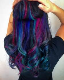 underneath hair color 25 best ideas about underlights hair on dyed