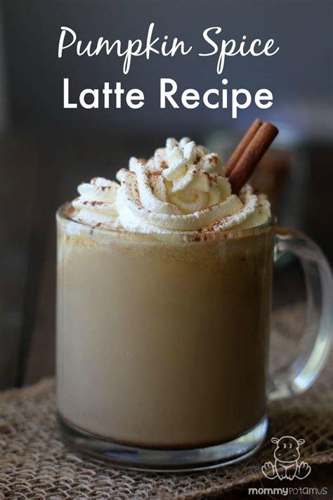 natural pumpkin spice latte recipe