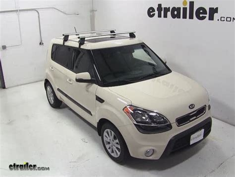 Kia Soul Roof Bars Roof Rack For 2013 Kia Soul Etrailer