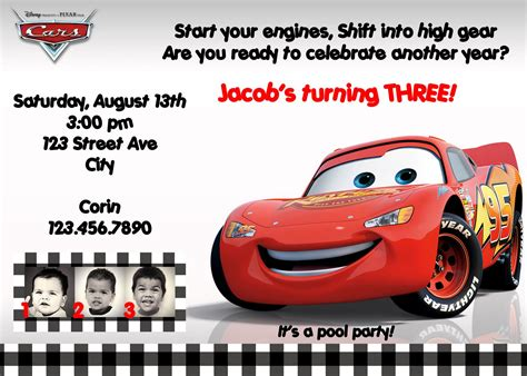 cars invitation cards templates cars birthday invitations ideas bagvania free printable