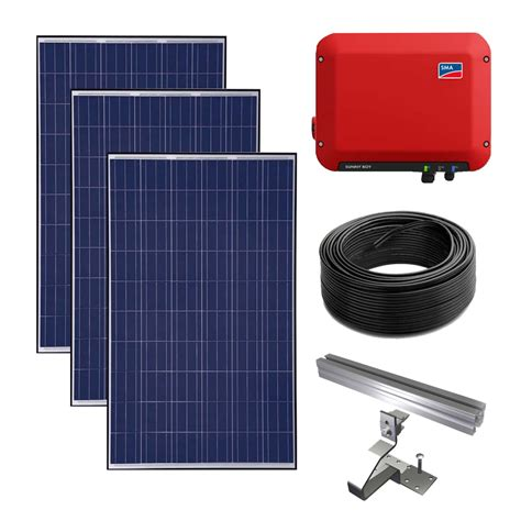 solar powered kit 3kw grid solar power kit sma solar advice