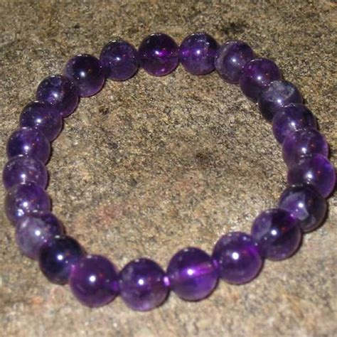 6mm bead bracelet amethyst 6mm bead malastrectch bracelet zen traditions