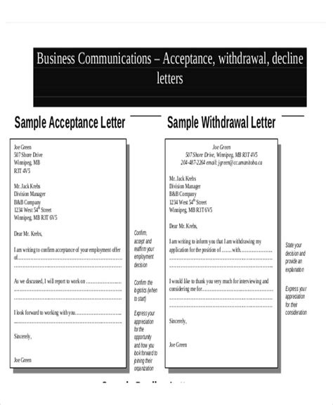 Acceptance Letter For Resignation Withdrawal 30 Resignation Letter Exles