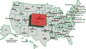 us states map denver colorado tops charts for recession recovery