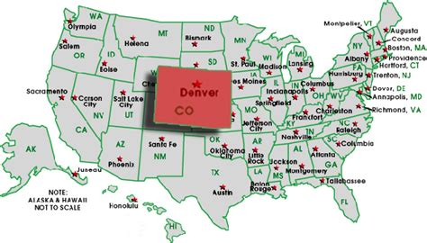 map of colorado highlighting denver county colorado tops charts for recession recovery