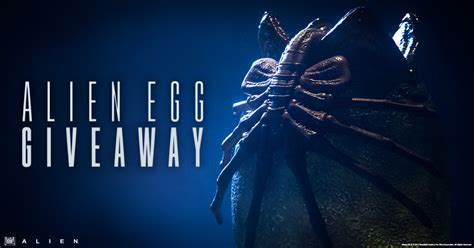 Alien Giveaway - alien egg statue giveaway sideshow collectibles
