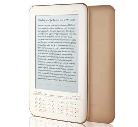 any format ebook reader iriver story hd ebook reader with the support of google
