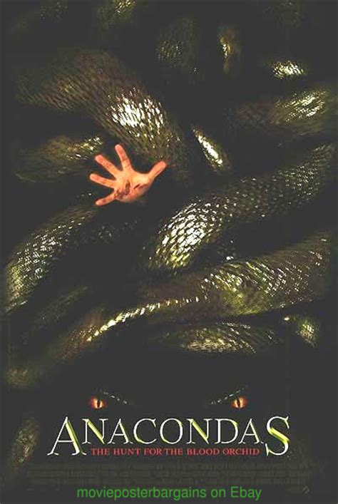 film anaconda 2 anaconda snakes on a plane anacondas movie poster