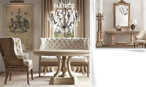 restoration hardware dining room tables rooms restoration hardware breakfast nook dining room