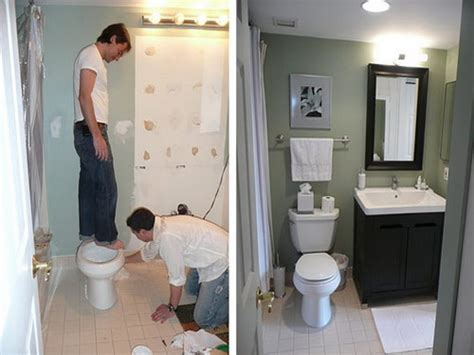 how to renovate small bathroom small bathroom remodels before and after photo 9