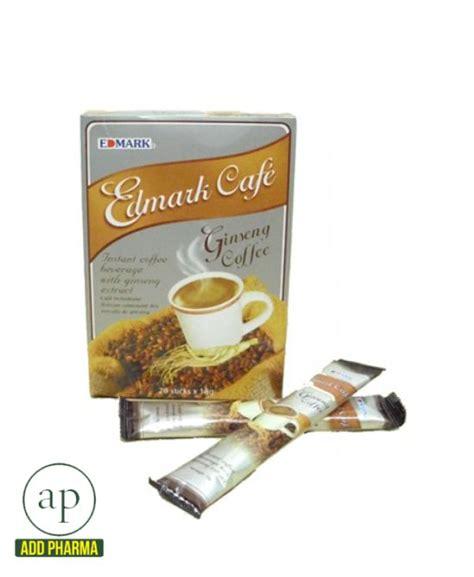 Cni Ginseng Coffee 20 Sachets edmark cafe ginseng coffee sachet 20 sachets addpharma