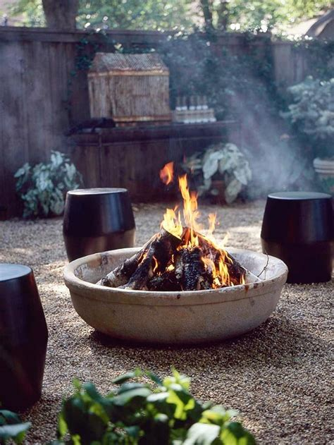 Outside Firepit 62 Awesome Outdoor Bowls To Add A Cozy Touch To Your Backyard Digsdigs