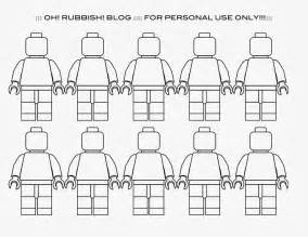 Lego Figure Template by 6 Best Images Of Lego Minifigure Printables Lego