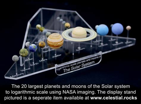 solar system purchase solar system models all planets and major moons kee55akjw by jayfisher