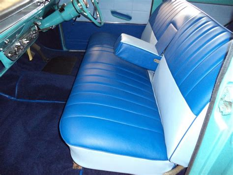 Bedroom Interiors ford consul 375 low line new interior bench seats by www