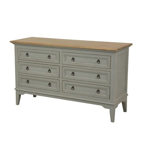Interiors Commode by Commode 6 Tiroirs Gris Interior S