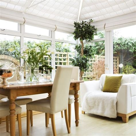Conservatory As Dining Room by White Conservatory Conservatory Ideas Housetohome Co Uk