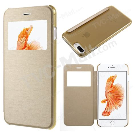 Mercury Bluemoon Flip Cover Iphone 5 Gold Buy Onjess Dual Window Leather Flip Protection Cover