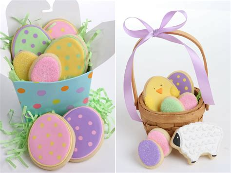 decorated easter cookies polka dot easter egg cookies glorious treats