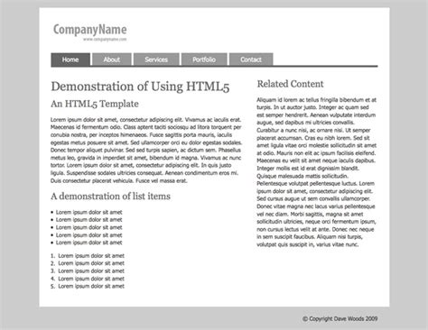 resource guide template the ultimate html5 resource guide webdesigner depot