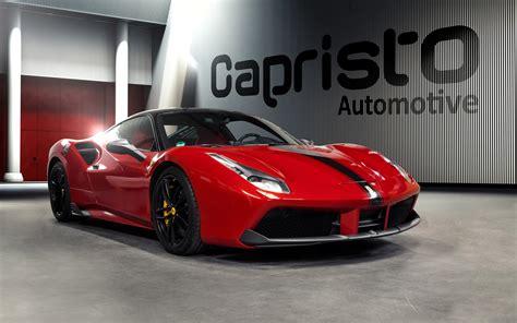 ferrari 488 wallpaper 2016 capristo automotive ferrari 488 gtb wallpaper hd