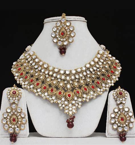 how to make indian jewelry with indian bridal jewellery wedding kundan indian jewelry