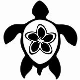 Hawaiian Sea Turtle Clipart | 736 x 736 jpeg 33kB