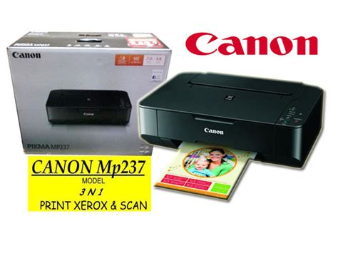 Printer Canon Mp237 cara reset printer canon mp237 dengan mudah
