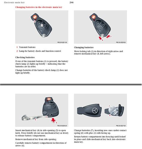 Mercedes Key Fob Battery Replacement by Key Battery Replacement Mercedes Forum
