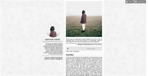 simple blog themes tumblr ettudis support zious theme 6 absinthe