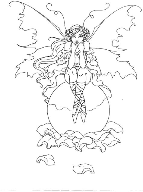 wood fairy coloring page amy brown fairy coloring book fairy myth mythical mystical