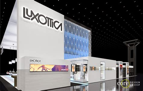 luxottica room design the freelance exhibit design luxottica eyewear 80 x 90 island