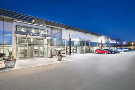 Motor Trade As Trondheim by Motor Trade Trondheim Voll Arkitekter