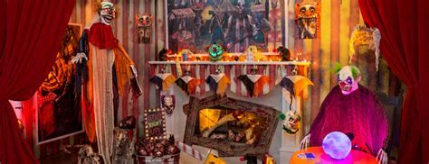 Scary Clown Halloween Decorations   Party Delights